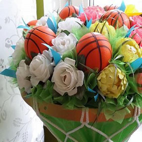 Баскетбольный букетик