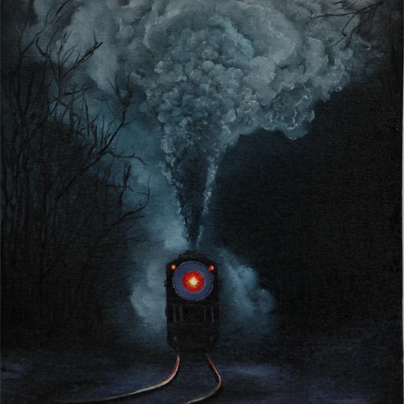 Картина «Паровоз» (40х60см)
